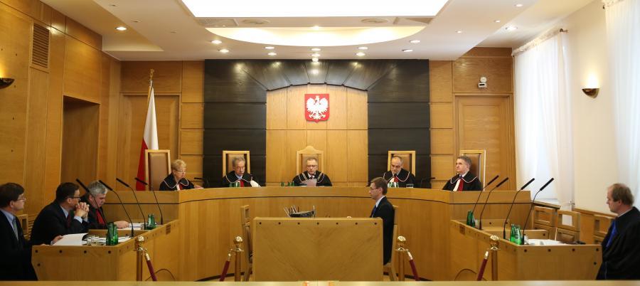 Posiedzenie Trybunału Konstytucyjnego
