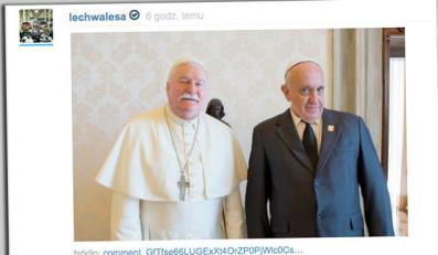 Przeróbka zdjęcia Lecha Wałęsy na Wykop.pl
