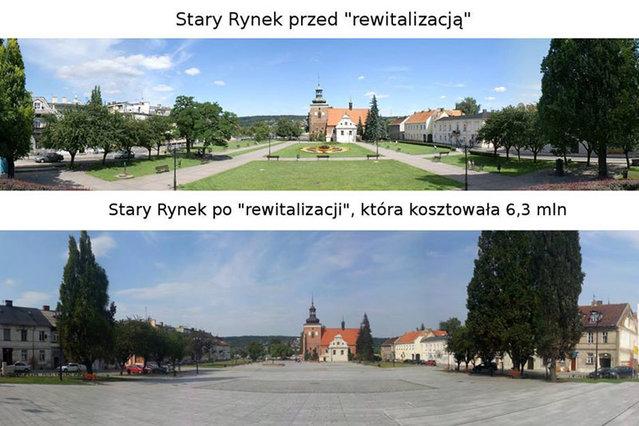 Rewitalizacja Włocławka - mem