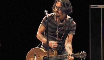 Johnny Depp na płycie z tekstami Boba Dylana