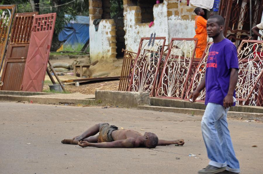 Zwłoki na ulicach Monrovii