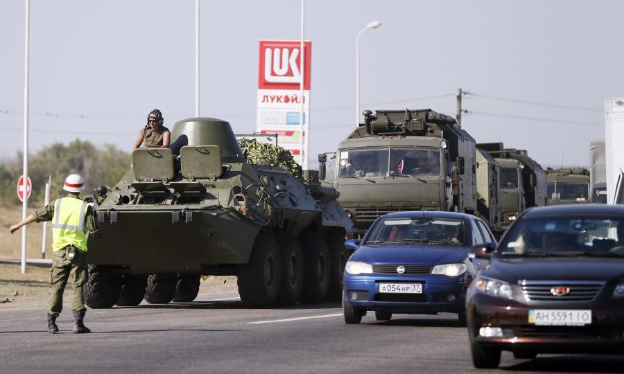 Rosyjski transporter opancerzony