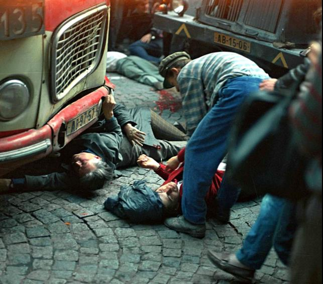 Inwazja na Czechosłowację: Zabici i ranni w centrum Pragi