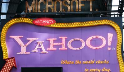 Yahoo i Microsoft bliscy porozumienia