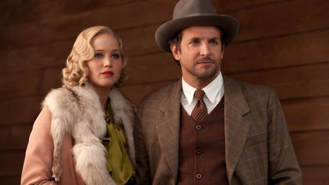 Jennifer Lawrence i Bradley Cooper w filmie \