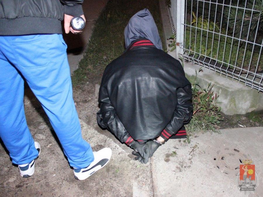 Dariusz K. był poszukiwany przez policję za wiele włamań do samochodów
