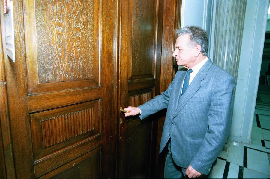 Czesław Kiszczak w 1996 roku