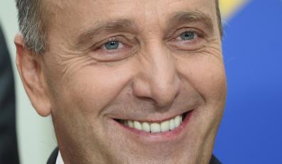 Kandydat na ministra spraw zagranicznych Grzegorz Schetyna podczas oficjalnego ogłoszenia składu rządu Ewy Kopacz