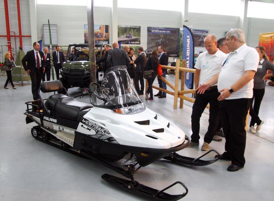 Polaris otworzyli w Polsce nową fabrykę