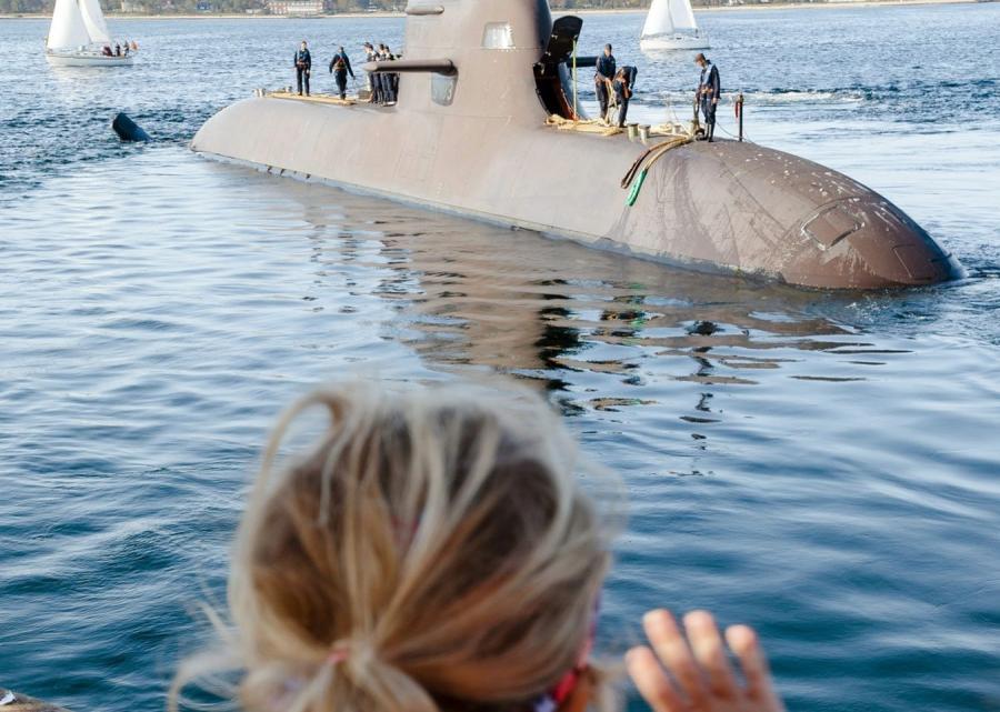 Niemiecka łódź podwodna