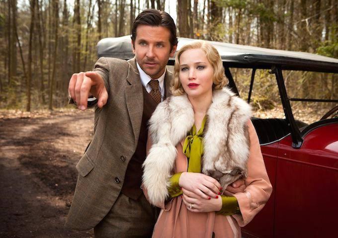 Bradley Cooper i Jennifer Lawrence w \