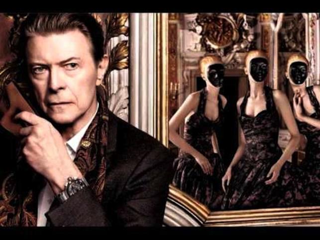 Po galeriach całego świata krążą obrazy Davida Bowiego