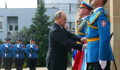 Wizyta Władimira Putina w Belgradzie