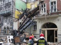 Wybuch gazu w Katowicach. Zawalone piętra budynku. ZDJĘCIA