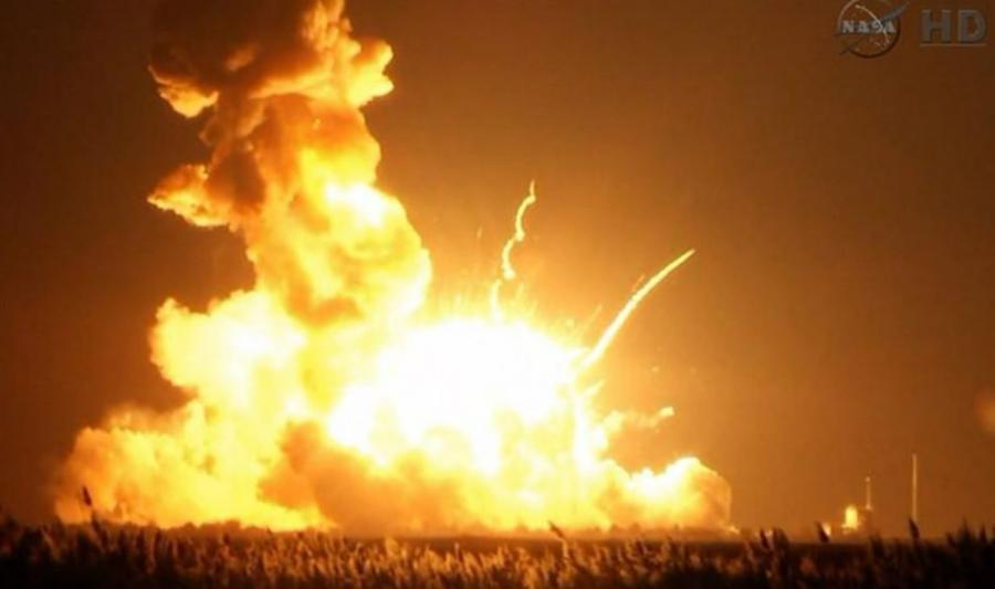 Start rakiety bezzałogowej transmitowała NASA