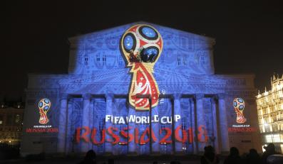 Logo mundialu w Rosji