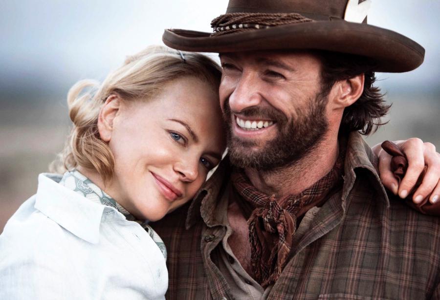 Hugh Jackman i Nicole Kidman w filmie \