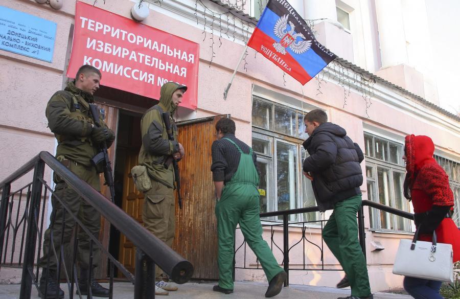 Lokale wyborcze w Donbasie
