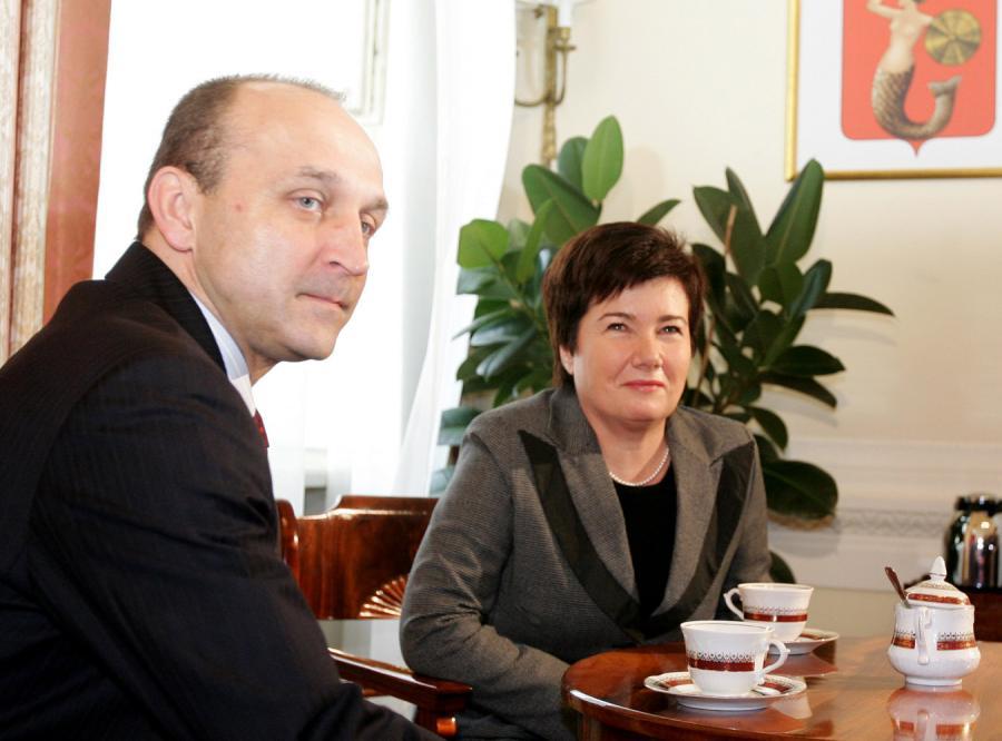 Gronkiewicz i Marcinkiewicz bez Legii