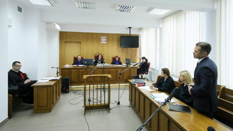 Sławomir Nowak przed sądem
