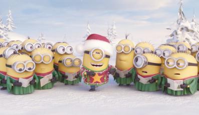 Świąteczne życzenia od Minionków