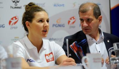 Kapitan reprezentacji Polski piłkarek Karolina Kudłacz
