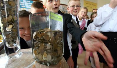 Zbiórka monet w ramach akcji Góra grosza