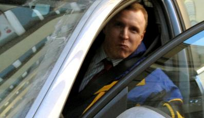 Jacek Kurski uciekał przed policją