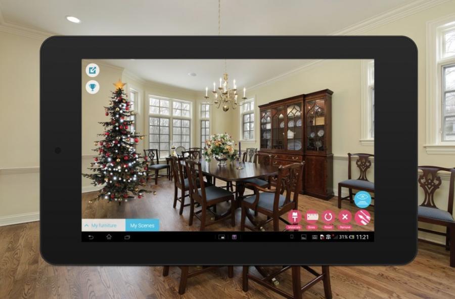 Aplikacja, która pozwala wirtualnie meblować wnętrza