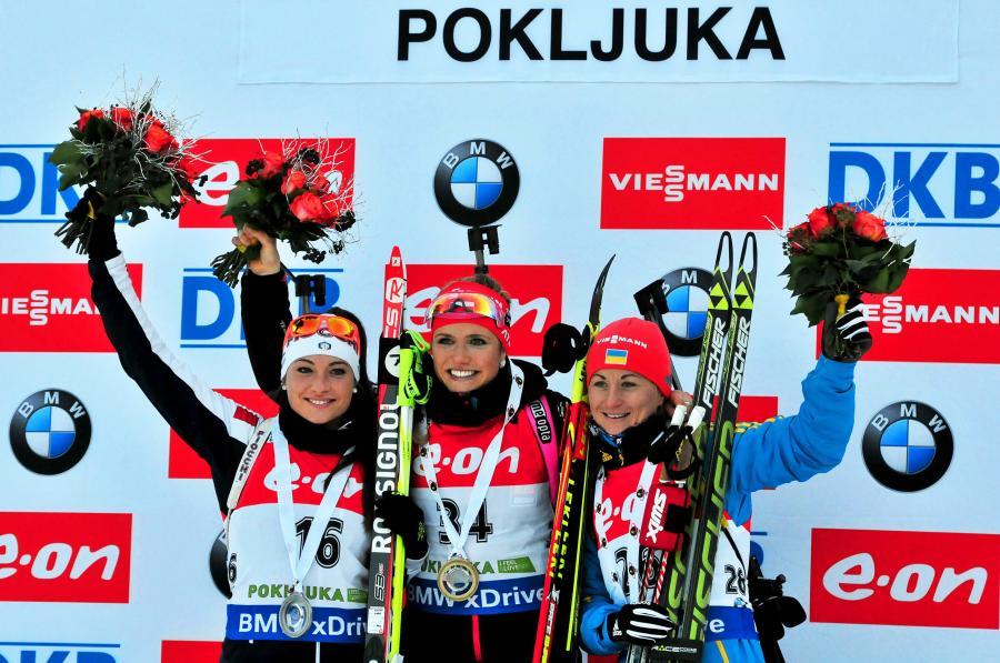 Gabriela Soukalova (w środku)