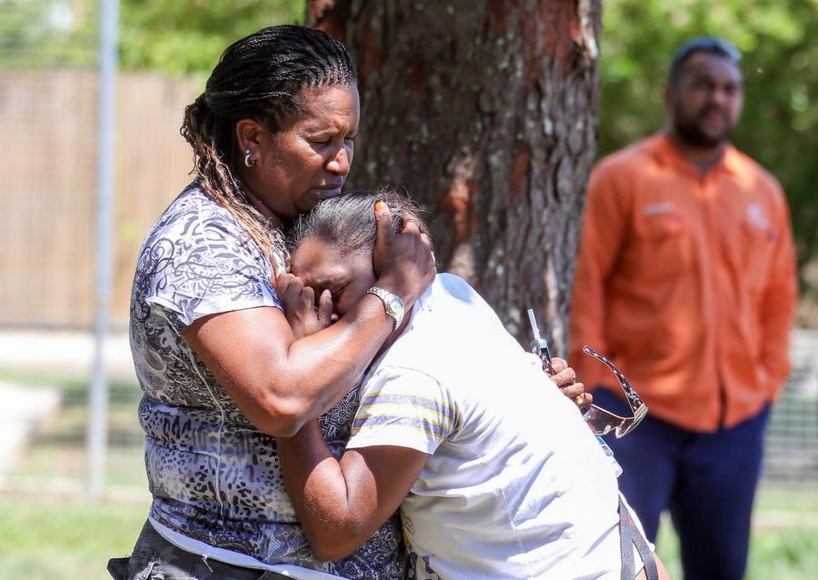 Wstrząśnięci sąsiedzi. Ośmioro dzieci zamordowanych, matka ciężko ranna w szpitalu