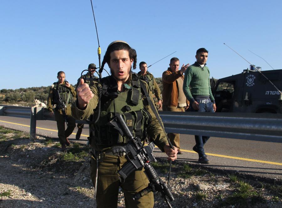 Izraelski żołnierz