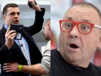 Owsiak wyrzucił dziennikarza. Policja na konferencji WOŚP. ZDJĘCIA