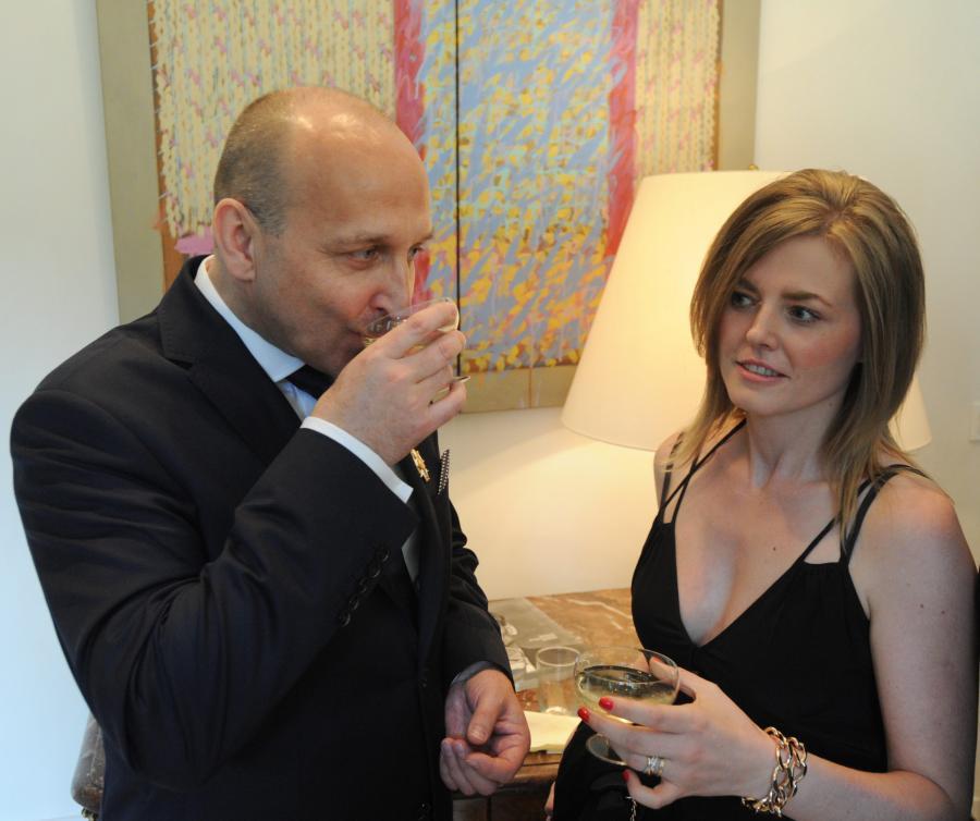 Kazimierz Marcinkiewicz i jego żona, Izabela Olchowicz-Marcinkiewicz, czyli \