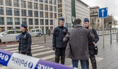 Policjanci w Belgii