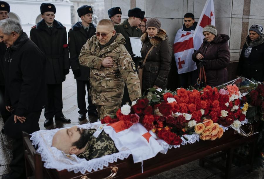 Kapitan gruzińskiej armii Tamaz Suchiaszwili poległ 17 stycznia