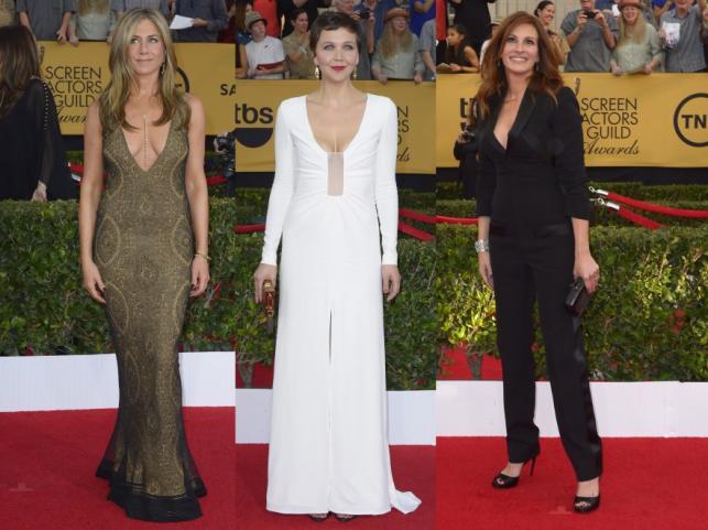 Jennifer Aniston, Maggie Gyllenhaal i Julia Roberts
