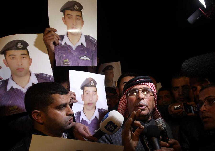 Protesty w sprawie uwolnienia jordańskiego pilota