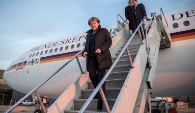 Angela Merkel przybyła do Waszyngtonu na rozmowy z Barackiem Obamą o Ukrainie