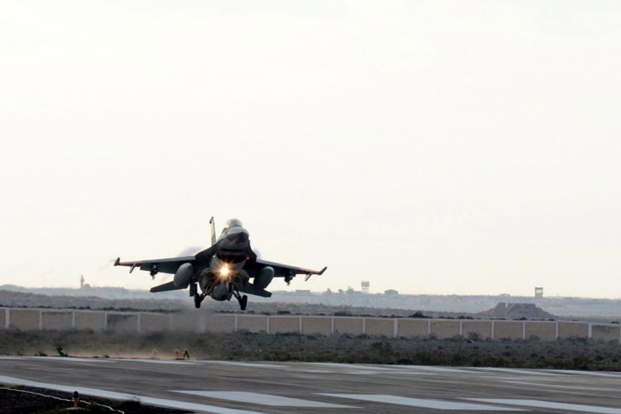 F-16 należące do egipskiej armii