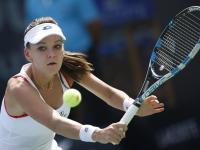Chora Agnieszka Radwańska awansowała do III rundy turnieju w Dubaju. ZDJĘCIA