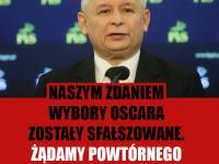 Sfałszowane Oscary i Łazienkowski most wanted. MEMY DNIA