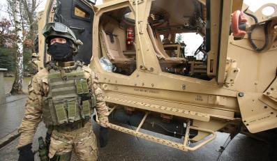 Amerykańskie MRAP-y dla polskich żołnierzy