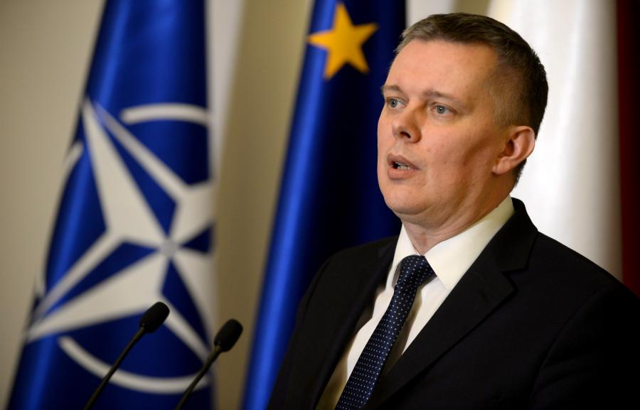 Wicepremier, minister ON Tomasz Siemoniak