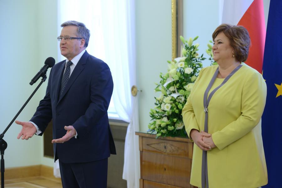 Bronisław Komorowski, Anna Komorowska