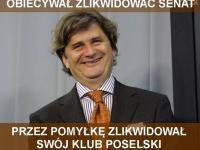 Pomyłka Palikota i choroby polskich polityków. MEMY DNIA
