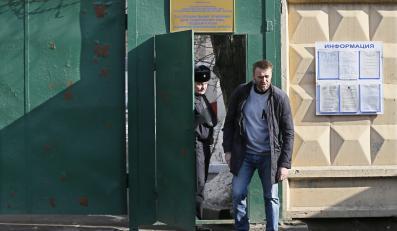 Aleksiej Nawalny wyszedł na wolność
