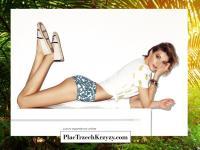 Dziewczyna Wojewódzkiego w kampanii luksusowego butiku. Bez retuszu!