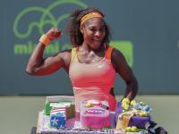 Serena Williams pokazała swoje bicepsy. ZDJĘCIA
