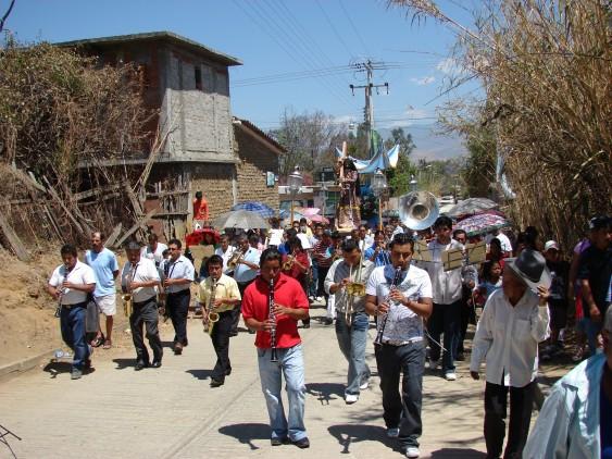 Procesja w czasie Wielkiego Tygodnia w Meksyku